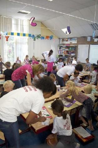 Klassenbesuch bei Fons