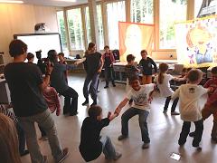Das aktuelle Thema von Powerstation Art ist der Tanz.